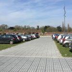 Indienstname parking Noord van de 'Esplanade du Champ de Mars' in Rijsel (maart 2017)