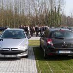 Waterdoorlatende groene en beklinkerde parkeerplaatsen (maart 2014)