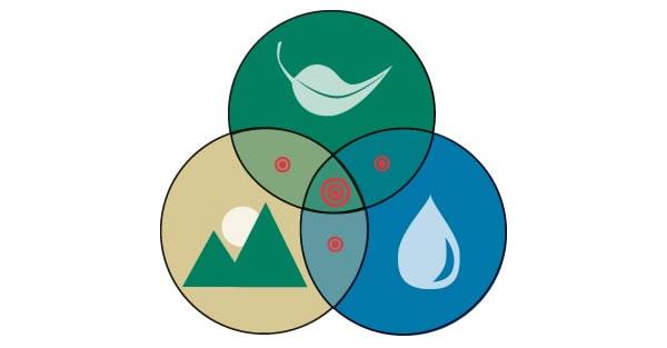 Biodiversité des écosystèmes pour l'urbanisme durable