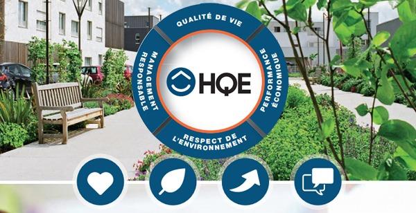 Parking écologique en dalles alvéolées pour objectifs hqe