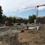 Mise en oeuvre des fondations (août 2015)