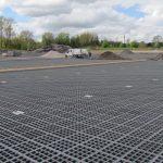 Eerste oppervlakte uitgevoerd in TTE®-roosters (april 2017)