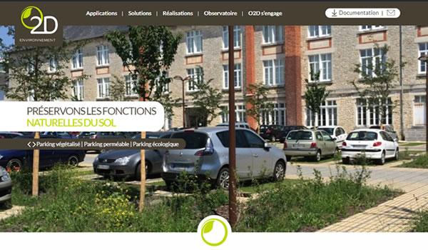 Nouveau site web d'O2D ENVIRONNEMENT
