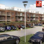 Plan du projet de résidence (Thomas et Piron - Sofateliers Architectes)