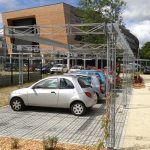 Stationnements gravier paysagers