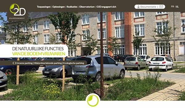 nieuwe website o2d environnement