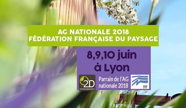 Fédération française du paysage Parrainage AG 2018