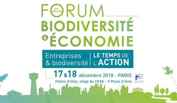 Forum Biodiversité et entreprises