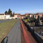 Allée de cimetière pavée perméable - Wavrin