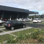 Parking après un an de mise en circulation - octobre 2019