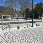 'Parking des Suisses' na herraanleg - april 2018 (bron: O2D ENVIRONNEMENT)