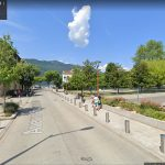 'Parking des Suisses' na herraanleg - juli 2019 (bron: Google Maps)