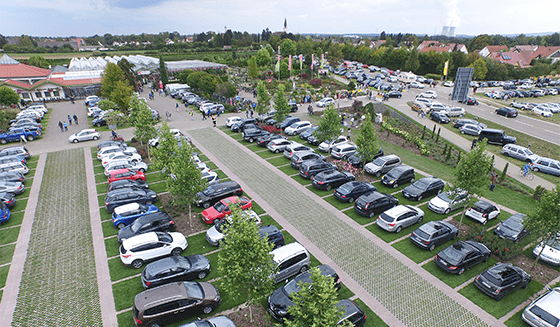 Duurzame aanleg van parkeerterreinen